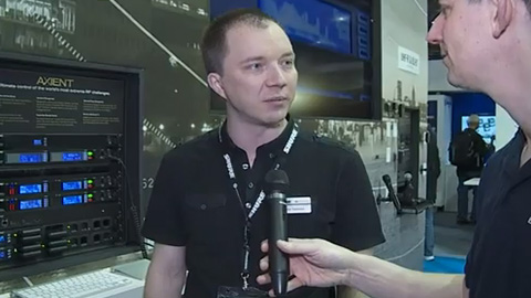 Shure Axient at BVE 2013