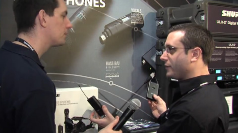 Shure Distribution at BVE North 2012 Part 1