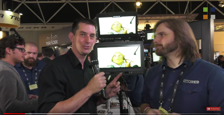Small HD 1703-P3X Monitor at IBC 2017