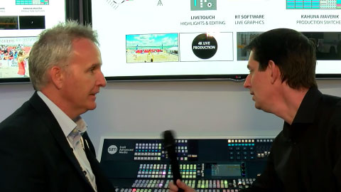 Snell Advanced Media (SAM) 4k workflow at IBC 2015