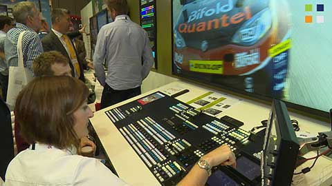 Snell Kahuna Production Switcher at IBC 2014