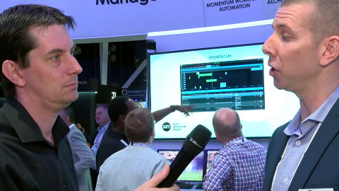 Snell Advanced Media (SAM) Biometrics technology at IBC 2015