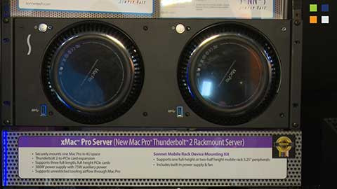 Sonnet Technologies Thunderbolt Chassis at IBC 2014