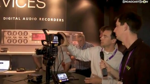 Sound Devices at IBC2011