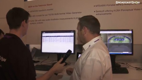 Tektronix at IBC2011
