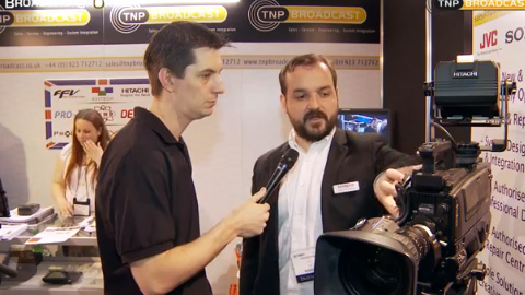 TNP and Hitachi at BVE North 2011