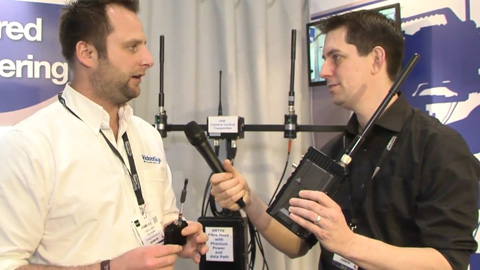 Videosys Wireless Transmitters at BVE 2014