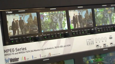 Wohler MPEG Monitoring at BVE 2014