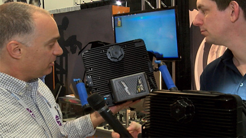 Zylight F8 LED Fresnel at NAB 2013