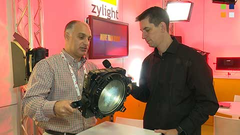 Zylight Fresnel updates at IBC 2014