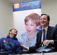David Cameron launches the UKs first Accessible Video Games Centre