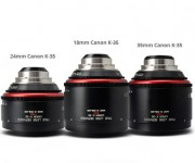 TLS Announces Re-Engineering of Canon K35 Lenses