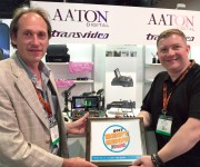 Aaton Digitals CantarMini 16 track mixer-recorder Wins NewBays Best of Show Award, Presented by Pro Sound News
