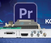 AJA Control Panel Brings KONA and Io Customers Easy Access to New Adobe Premiere Pro HLG HDR Features