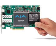 AJA Introduces New Solutions for IP Workflows at NAB 2017