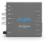 AJA Upgrades IP Mini-Converter Receivers with  New UltraHD and amp; Reference Input Support