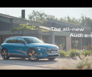 Audi selects Sony and rsquo;s VENICE to introduce its first all-electric car