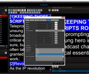 AUTOSCRIPT WINPLUS-IP DELIVERS NEW LEVELS OF PROMPTER CONTROL AND WORKFLOW EFFICIENCY
