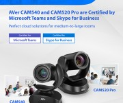 AVer Announces Certified Video Collaboration Solutions for Microsoft