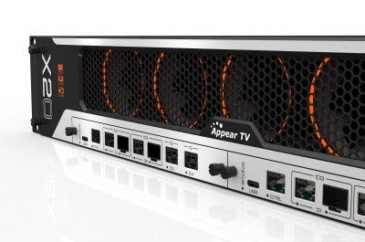 Appear TV Introduces Three Modules for X10 X20 Ultra High-Speed Networking Platform