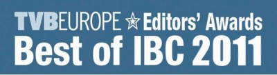 Blackmagic Design Wins  Best of IBC 2011 Award  from TVBEurope