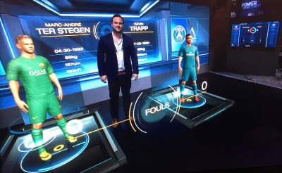 Data-Driven AR Football Module Wows Broadcasters and amp; Streaming Media at IBC