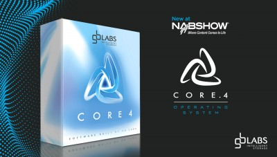GB Labs will unveil new Core.4 and Core.4 Lite operating systems at NAB 2019