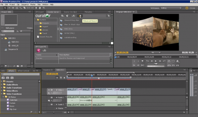Integrated IPV with Adobe Premiere Pro CS5.5 Software Provides Workflow Enhancements for Fast Turnaround Live Applications