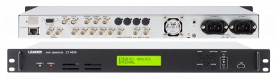 Leader Announces PTP and 12G-SDI Modules for LT4610 Test Signal Generator