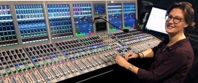 Marine Martignac, Audio Technician - A craft interview - Calrec