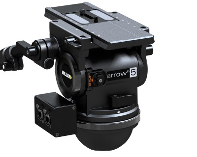Miller Camera Support Equipment Showcases arrowFx and Skyline 90 Fluid Heads at BroadcastAsia 2017