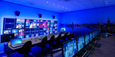 NEP chooses Custom Consoles desks for Swedens largest television production facility