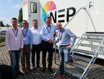 NEP Sweden Chooses Riedel MediorNet for Decentralized Signal Routing Aboard All-New UHD Van