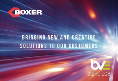 Partners converge on Boxer stand at BVE 2018