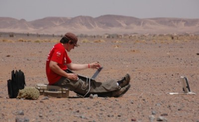 Peli contributes to the Mars Scientific Research expedition of MAFIC