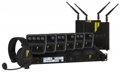 Pliant Technologies and rsquo; Features Latest Crewcom Wireless Intercom System at InfoComm 2019