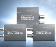 Blackmagic Design Announces New Micro Converter 3G Models