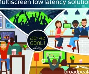 Broadpeak Reduces Latency for OTT Live Video Streaming by 90 Percent