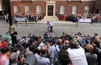 Camera Corps Q-Ball captures reaction to birth of royal baby