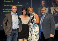 Channel 4 Voice and Gesture App Developed in Partnership with KIT digital Wins IBC2012 Innovation Award