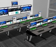 Custom Consoles Module-R Desks Chosen for One of the Worlds Largest News Agencies