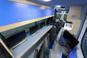 Custom Consoles technical furniture chosen for Southampton University video drone control vehicles