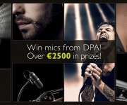 DPA Microphones  Win 2,500 ($2,800) for sharing your DPA experience