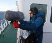 DPA Microphones Heats Up the Frozen Desert for Documentary, Antarctica, A Message from the Other Planet