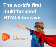 Ekioh launches the world and rsquo;s first multithreaded embedded browser