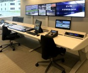 EVS Chooses Custom Consoles Module-R Lite Desk for its new IP Expertise Center