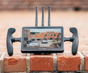 First 7 Touchscreen Wireless Monitor Receiver from SmallHD See the FOCUS 7 Bolt 500 RX at NAB Booth C5725