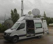 First Showing of Megahertzs BBC Northern Ireland DSNG truck at IBC2016