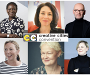 FIRST SPEAKERS ANNOUNCED FOR CREATIVE CITIES CONVENTION 2020