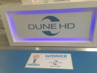 Innovative Dune HD Connect wins prestigious TV Connect industry award